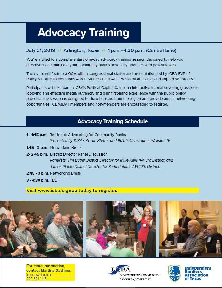 AdvocacyArlingtonTexas