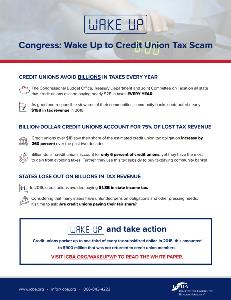 White Paper-Credit Unions Avoid Billions in Taxes Every Year