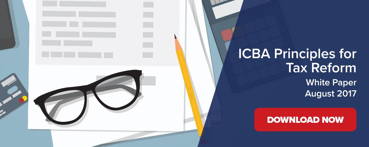 ICBA Tax Reform Whitepaper