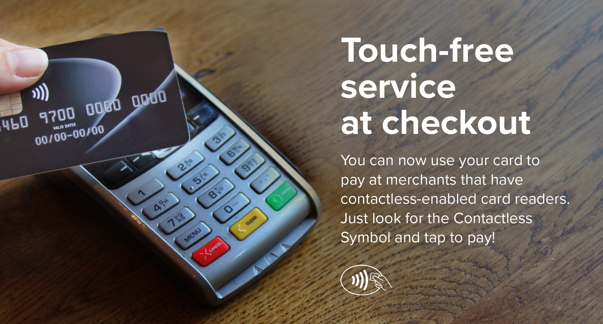 Contactless Card Insert