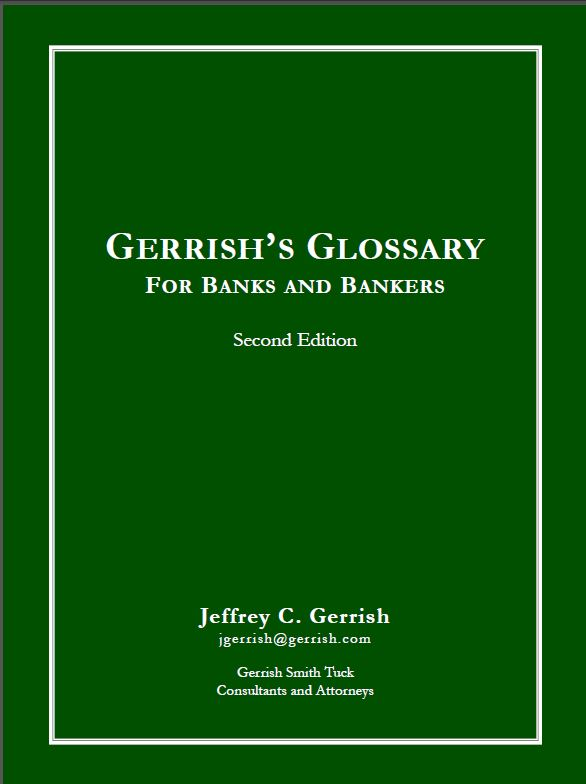 Bank Director Glossary