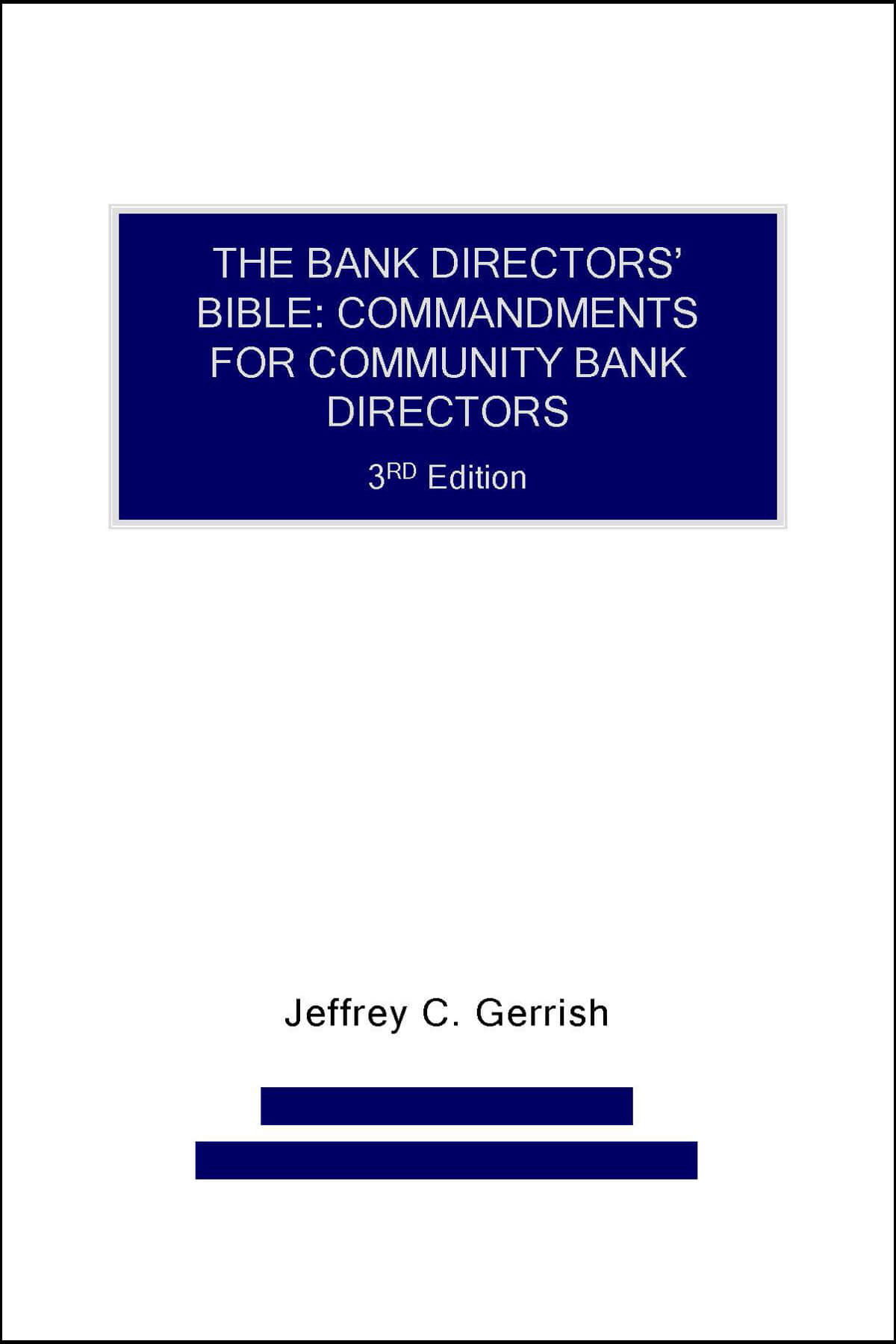 Bank Director Bible cover