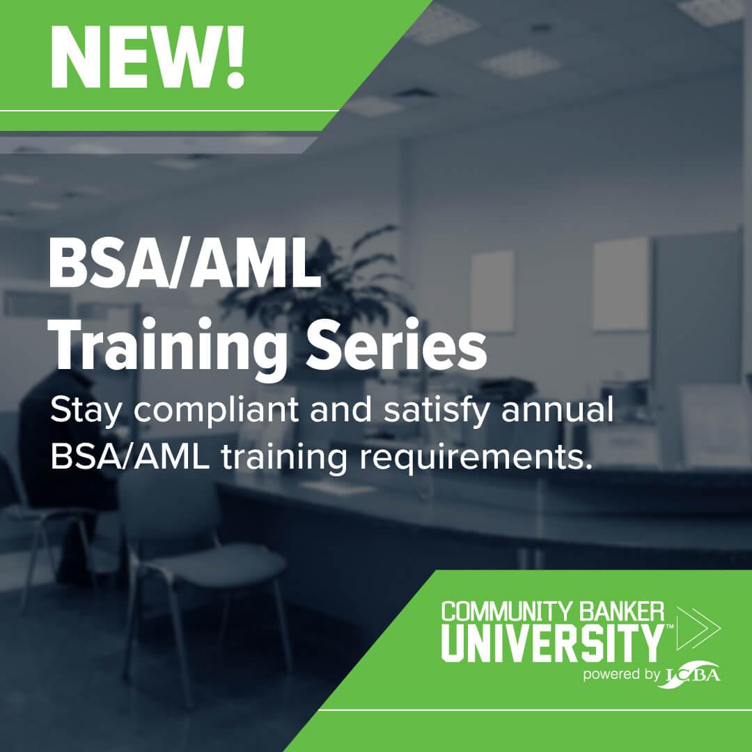 BSA AML Training Series
