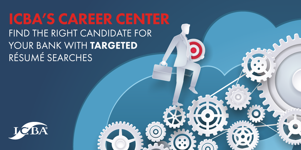 ICBA's Career Center