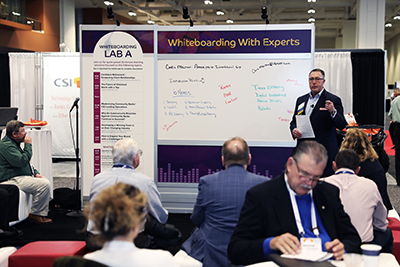 Whiteboarding with Experts at ICBA LIVE