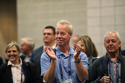 Attendee applause at ICBA LIVE