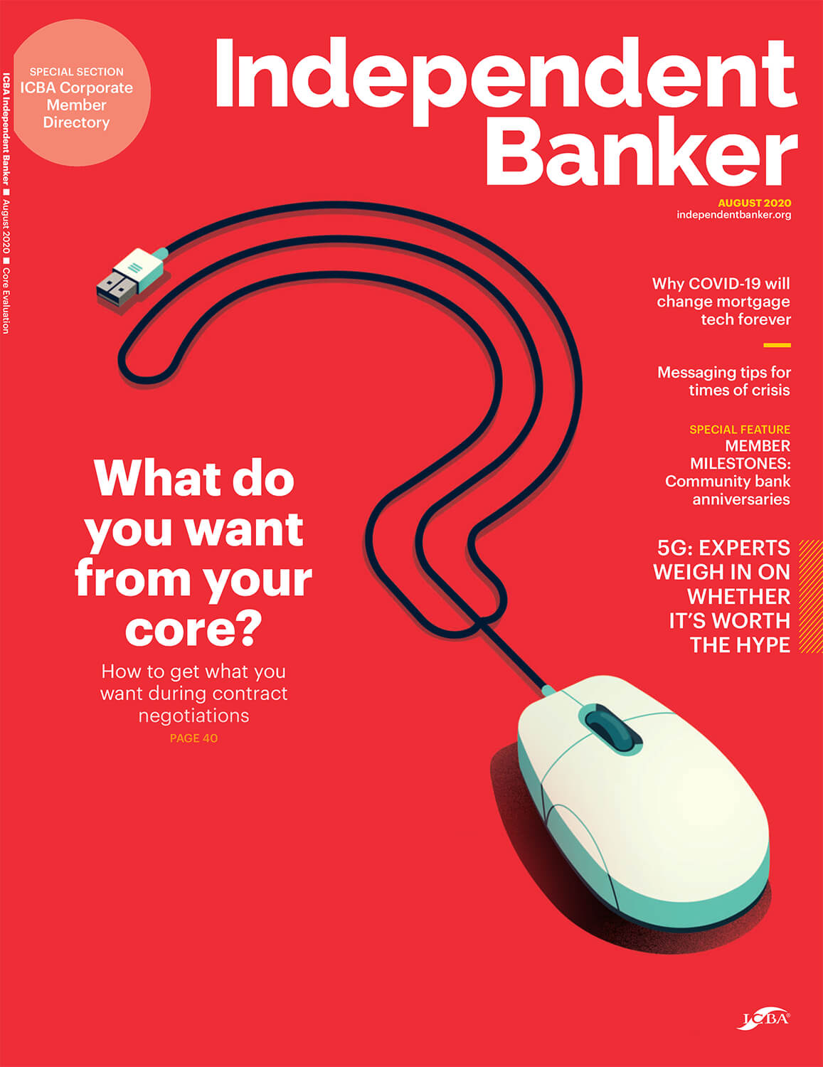 Independent Banker August 2020