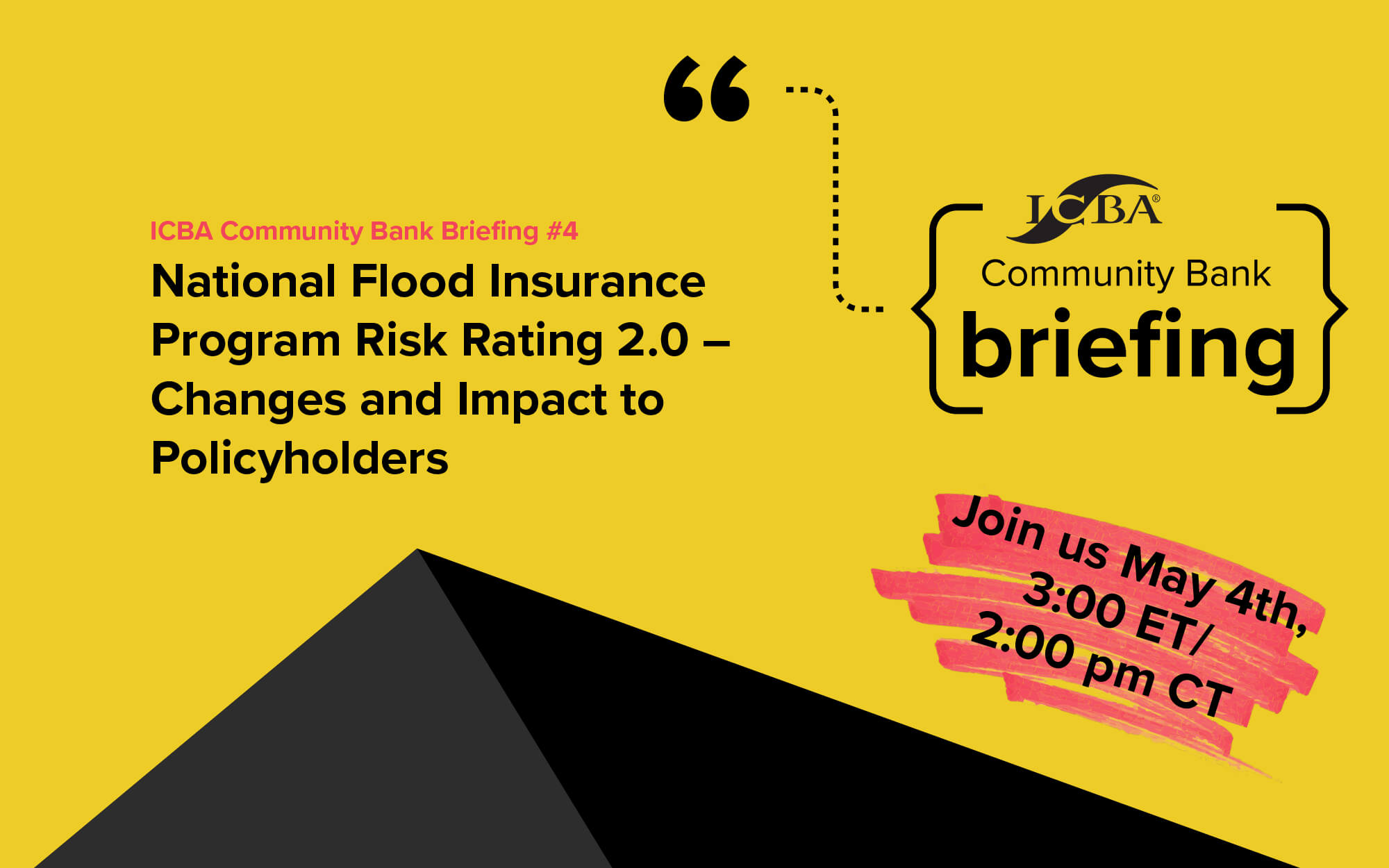Bank Briefing Flood Insurance