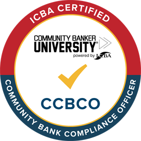 Certified Community Bank Compliance Officer