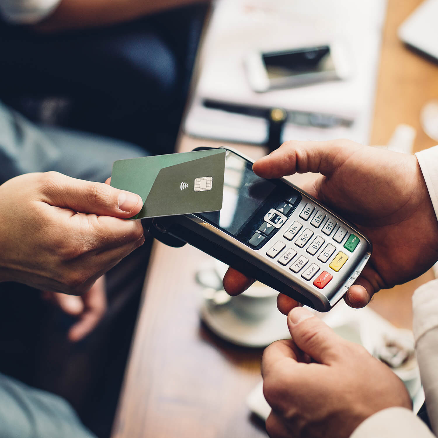 Contactless Payment Square