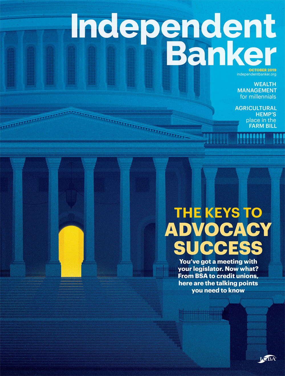 September IB Magazine Cover on Payments