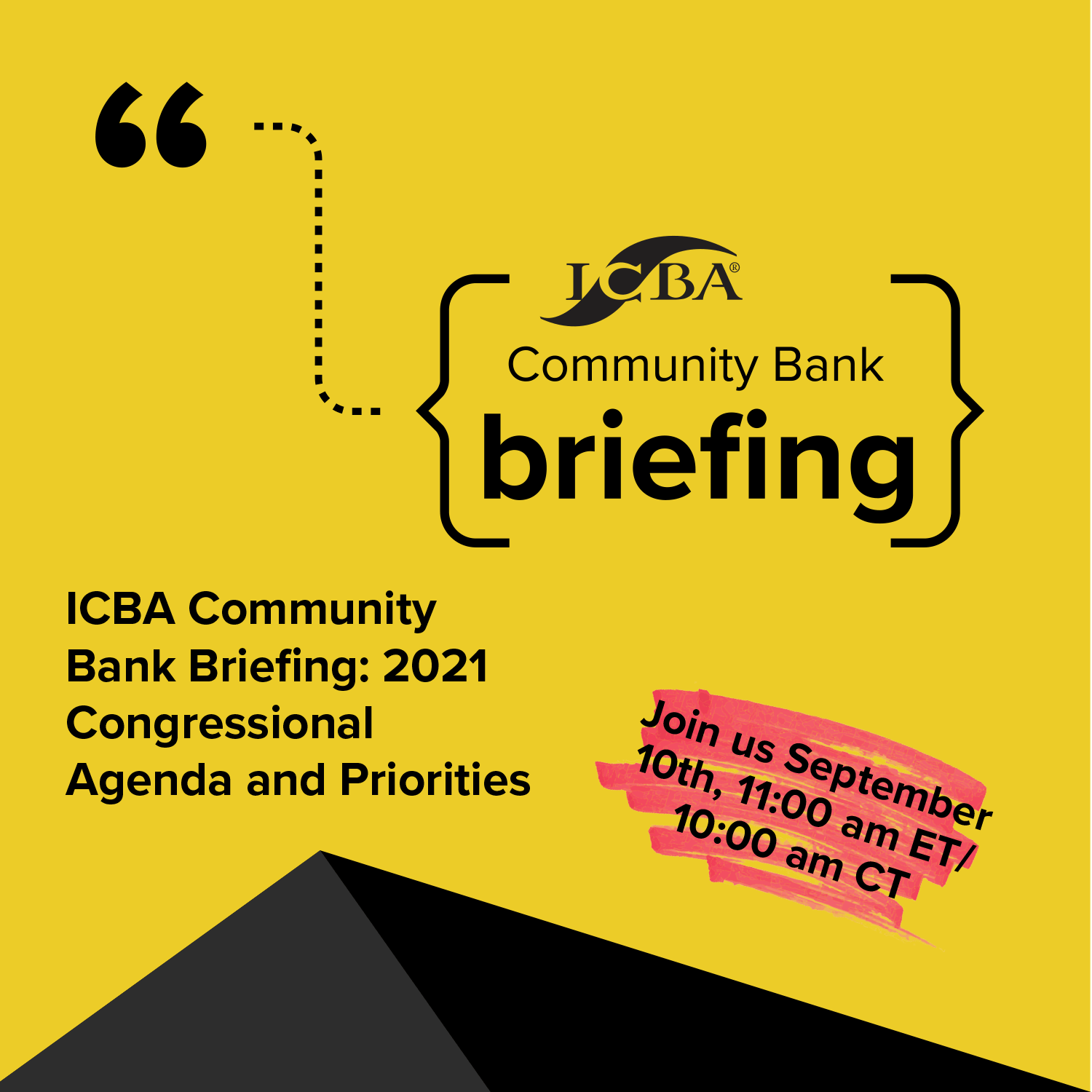 ICBA Bank Briefing Sept 10 Square