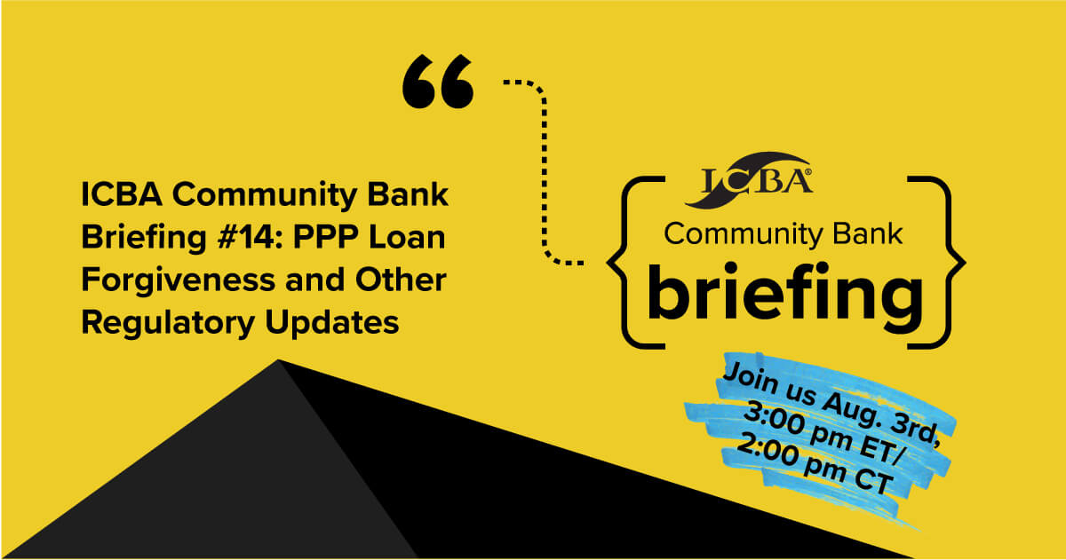ICBA Community Bank Briefing