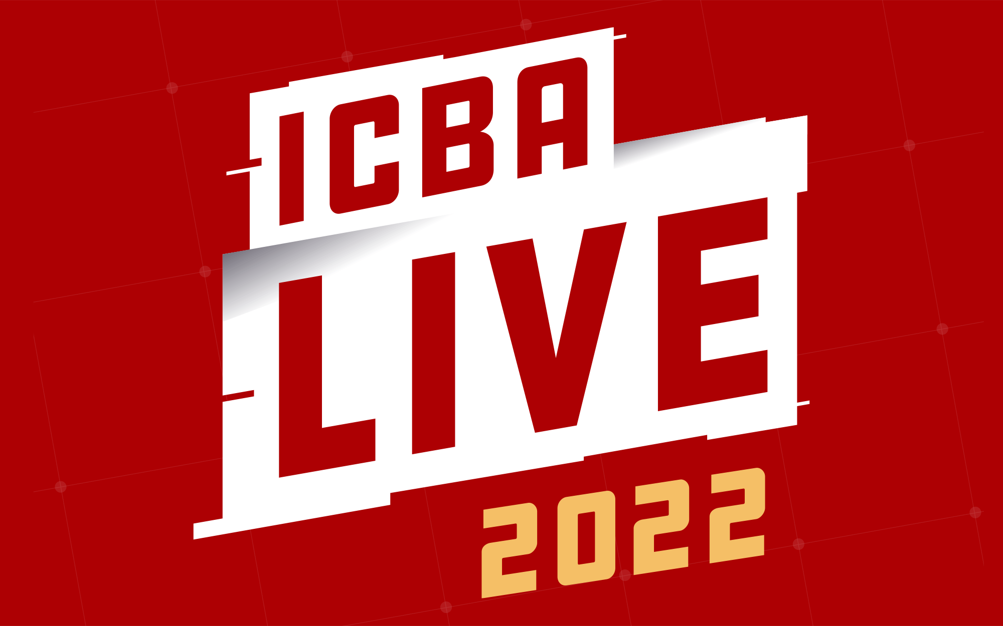 ICBA Live 2022 Red